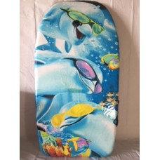Bodyboard Dolphin with Shades