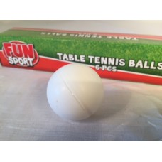 Table Tennis Ball 6pc