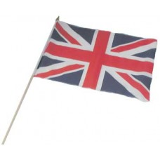 Union Jack Flag on Stick